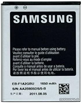 Samsung EB F1A2GBU Batterie pour Samsung Galaxy S 2 1650mAh