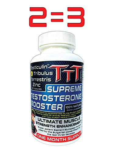 - TTT- The Best Alternative Of The Anabolic Steroids. Supreme Testosterone Booster. Contains Unique Ingredient No one Else Produces it. Delivers A Noticeable Increase In Stamina, Energy and Vitality