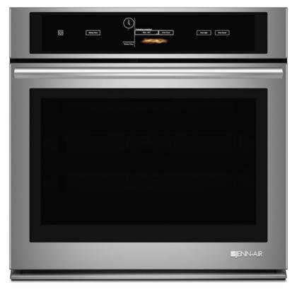 Jenn-Air JJW3430DS 30'' Single Wall Oven with V2 Vertical Dual-Fan Convection System 5 cu. ft. Capacity Soft Auto Close Door Wi-Fi Connectivity and Halogen Interior Lighting in Stainless