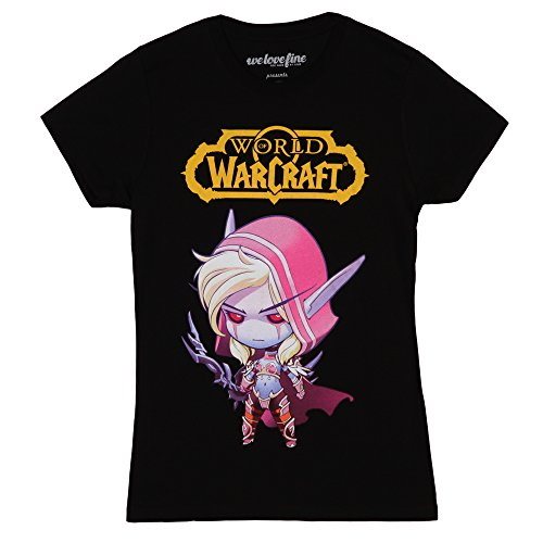 World of Warcraft Sylvanas Chibi Juniors T-Shirt