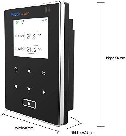 Elitech rcw-800/WiFi registratore di dati di temperatura e umidit/à wireless di temperatura del termometro per frigorifero