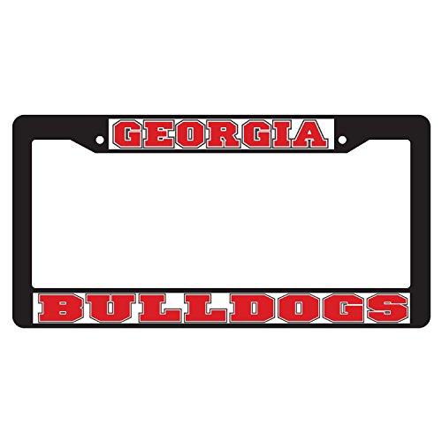 Georgia Bulldogs Plate Frame BLACK PLATE FRAME GA - Bulldogs Plate Logo Georgia