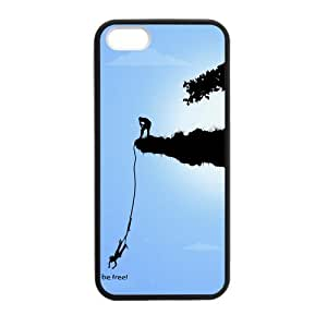 Be Free Bungee jumping Case for iPhone for iPhone 5 5s case by runtopwell