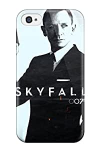 ZippyDoritEduard Snap On Hard Case Cover Skyfall 16 Protector For Iphone 4/4s