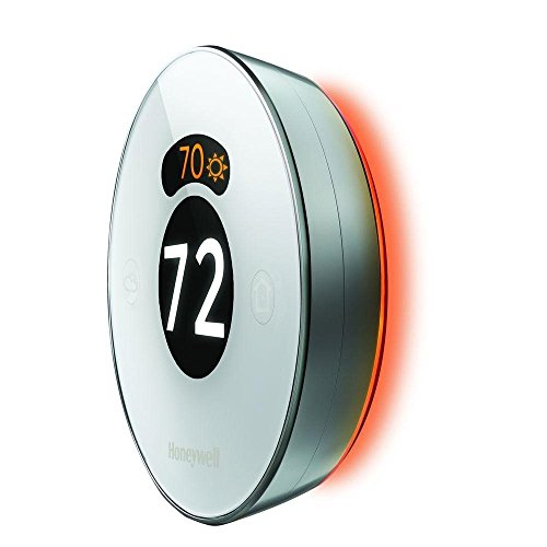 Lyric Round 2.0 Wi-Fi Smart Programmable Thermostat with Geofencing, IFTTT, Works with Amazon Alexa by Honeywell (Image #1)