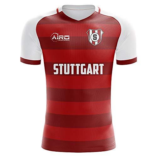 Airo Sportswear 2019-2020 Stuttgart Away Concept Football Soccer T-Shirt Jersey ()