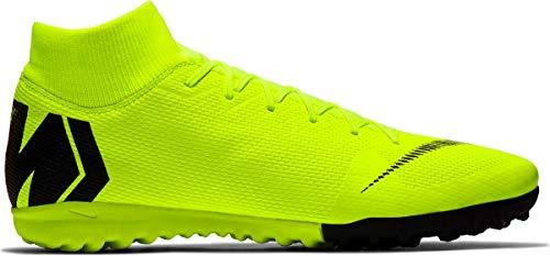 Nike Men's Superfly 6 Academy TF Soccer Shoes (Volt/Black) (11.5 D US)