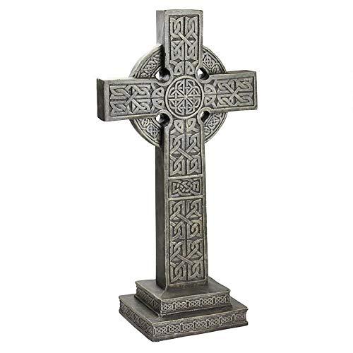 Celtic Celebration Of Halloween (Design Toscano CL3324 Bannockburn Celtic Scottish Cross Memorial Statue,)