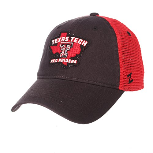NCAA Texas Tech Red Raiders Men's Freeway Relaxed Cap, Adjustable, Team Color]()