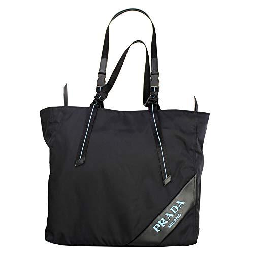 - Prada Black Nylon Tote Bag 1BG213 Nero