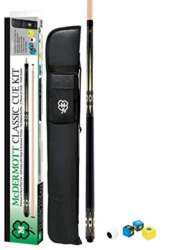McDermott Classic Pool Cue Kit (Dark Gray, 20oz)