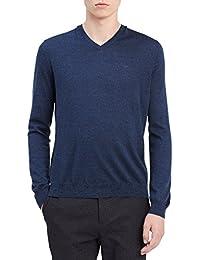 Men's Merino Sweater V Neck