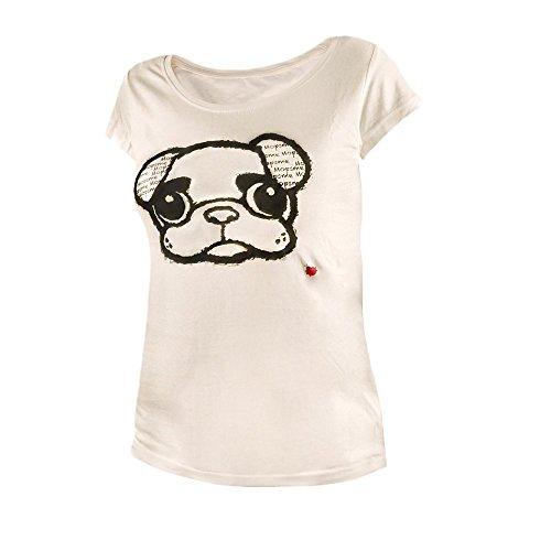 Rundhals T-Shirt Größe L