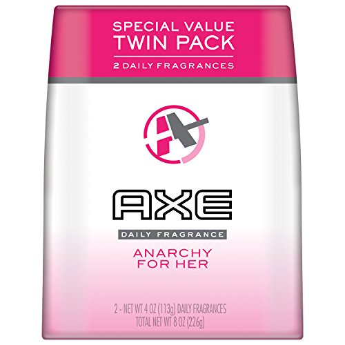 Axe Bodyspray, Anarchy For Her 4 oz, Twin Pack ()