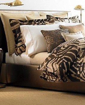 - Ralph Lauren Home Victoria Falls Zebra Flat Sheet King