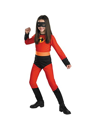 Disguise Costumes Girls, The Incredibles Disney Violet, 7-8, 1 ea (Medium (Sizes