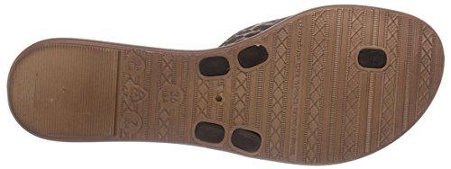 Grendha Exotic Thong - Sandalias de goma para mujer negro - Schwarz (Black 90058)