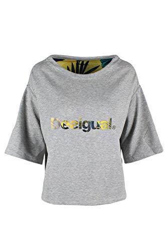 Femme Desigual Gris Sweat 19sosk06 shirt wSYSC