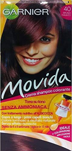tinta per capelli colorazione semi permanente movida n 40 bruno ramato   Amazon.it  Bellezza 2276787d67b9