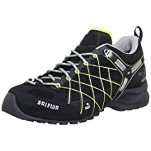 Salewa Womens Wildfire GTX Shoe,Black/Sulphur,6 M US