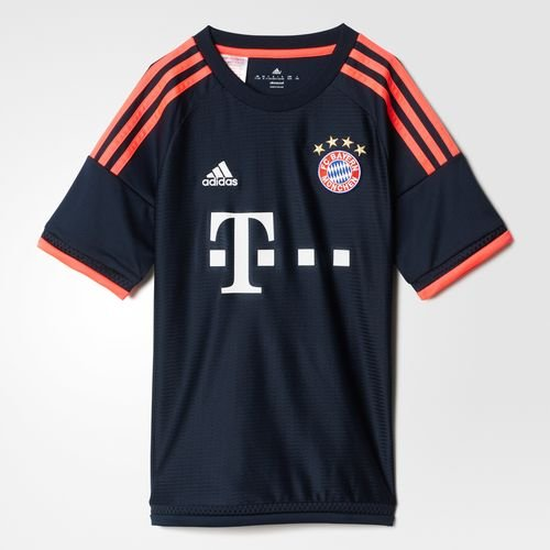 Adidas FC Bayern Munich Youth Jersey-NTNAVY (XL)