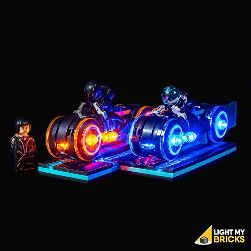 Light my Bricks Tron Legacy Lighting Kit (Building Set NOT Included) 21314