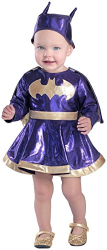 Princess Paradise Baby Girls' Batgirl Dress and Diaper Cover Set Deluxe, As Shown, 12 to 18 Months (Batgirl Toddler Costume)