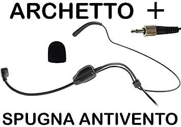 MPE AUDIO micrófono profesional inalámbricos headset diadema condensador polarizado omnidireccional para PROEL y SENNHEISER