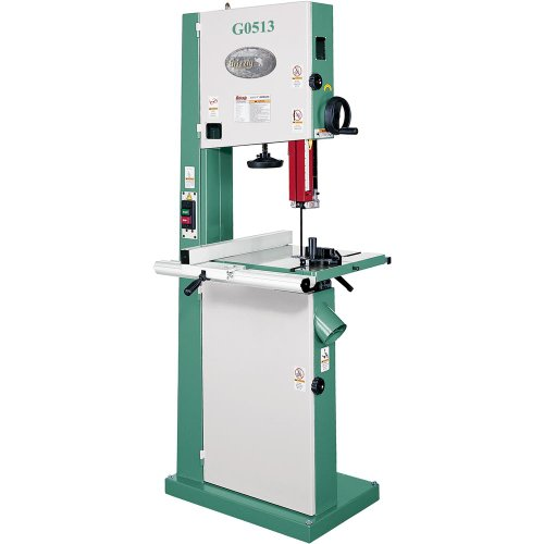 Grizzly G0513 2 HP Bandsaw, 17-Inch by Grizzly