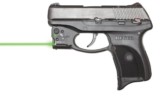 Viridian Reactor 5 Gen 1 Green Laser Sight Pistol Handgun, ECR Instant on Holster (Ruger Lc9 With Viridian Green Laser For Sale)