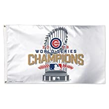 Chicago Cubs 2016 World Series Champions 3' x 5' Banner Flag