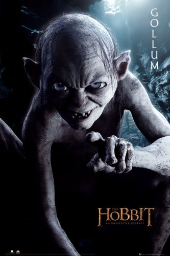 The Hobbit: An Unexpected Journey - Movie Poster Gollum