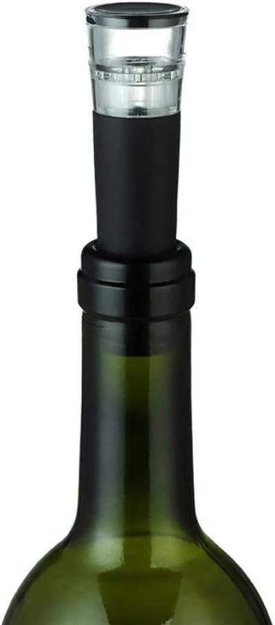 Aspiratore per Vino 3 Pezzi Bottiglia per Bottiglie sottovuoto Pompaggio di Strumenti di Tappo del Vino Fresco