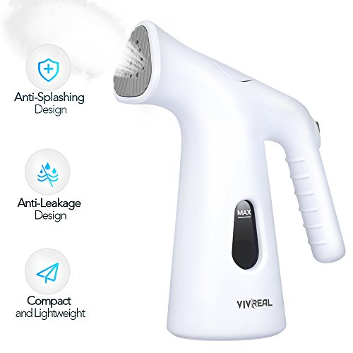 Steamer for Clothes - Clothes Steamer Handheld Travel Steamer with Integrated Anti-Leakage Design, Garment Steamer My Little Steamer with 4Oz Water Tank, Portable Steamer Iron for Kinds of Fabrics by VIVREAL