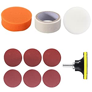 Dolity Auto Accessory Car Headlight Lamp Lens Clean Polishing Restoration Kit