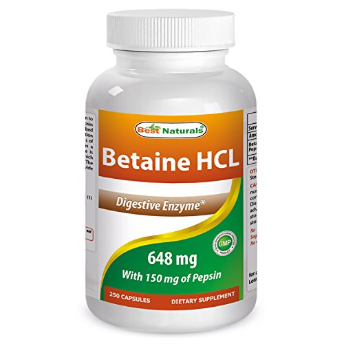 Best Naturals Betaine HCL Capsules product image