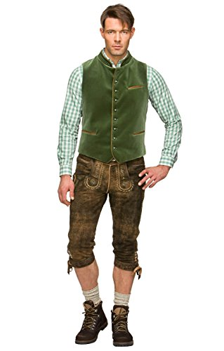 Traditional waistcoat Ricardo mossgreen by Stockerpoint (Image #1)