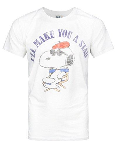 Junk Food Snoopy Make You A Star Men's T-Shirt (S)