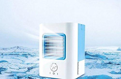 Fenmini Ventilador Ventilador Refrigerado Por Aire Con Agua Pequeño Portátil Mini Usb Ventilador De Refrigeración De Agua Del Aire Acondicionado Dormitorio De Estudiantes Llevan: Amazon.es: Hogar