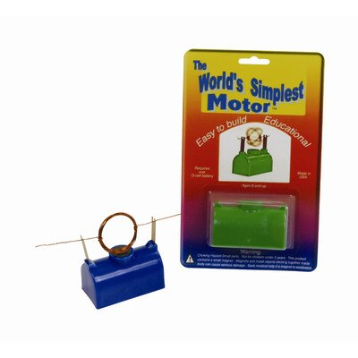 TEDCO Simplest Motor (Age 8+) Colors May (Electromagnet Kit)