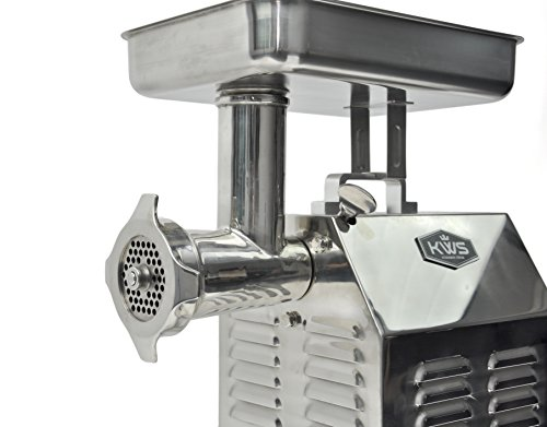 Commercial Electric Grinder Guards ~ Kws tc commercial w hp electric meat grinder