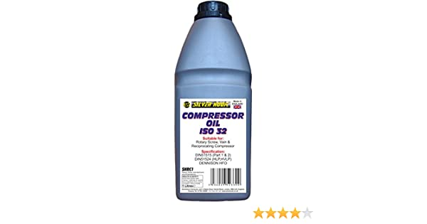Silverhook SHRC1 - Aceite de compresor ISO 32, 1 l: Amazon.es: Coche y moto
