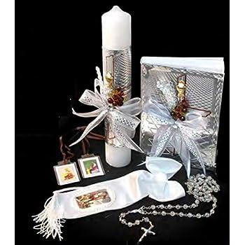 Amazon Com English Handmade First Holy Communion Set For Boy Holy