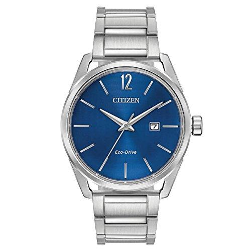 Citizen CTO Blue Dial Stainless Steel Men's Watch BM741051L