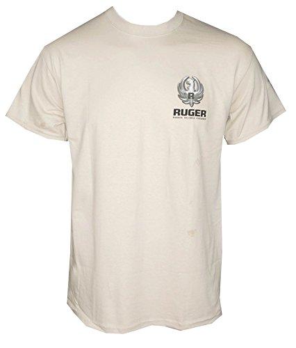 Ruger Firearms Mens Kryptek Metal T Shirt Sand L