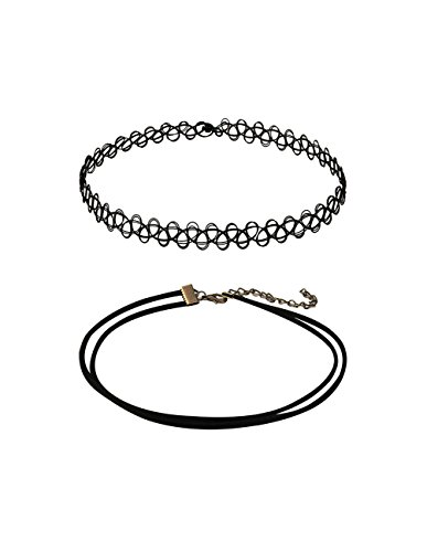 Mudder Stretch Tattoo Choker Necklace