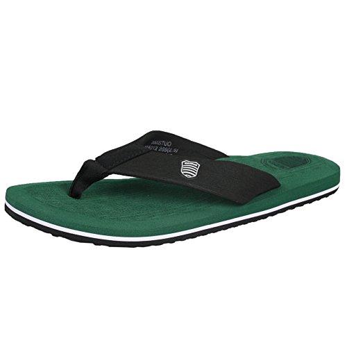 fereshte Mens Summer Comfort Sport Flip Flops Beach Sandal Casual Slipper Flat Shoes