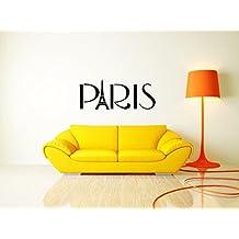 Paris Eifel Tower France World Decal Kids Room Decor sticker vinyl decal wall art