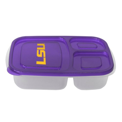 (NCAA LSU Tigers Lunch Container with Lid)