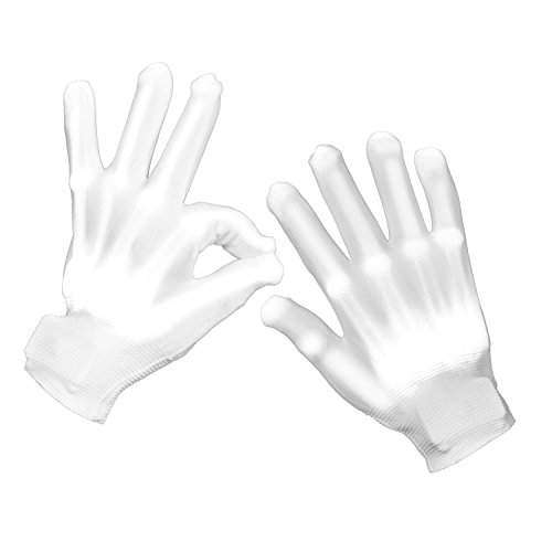 WHAT ON EARTH LED Lighted Skeleton Gloves - Halloween Costume Accessory
